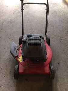 Gas lawn mower for sale