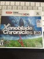 Brand new sealed Xenoblade Chronicles for New Nintendo 3DS