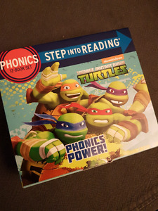 Teenage Mutant Ninja Turtles - Phonics 12 Book Set (damaged box