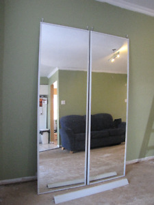 Mirrored Closet Doors