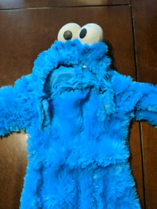 12-24 month cookie monster costume