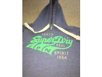 REAL SUPER-DRY womens hoodie barely worn