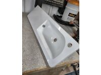 Bathroom sink ceramic