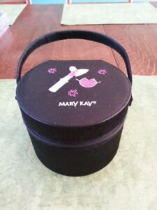 Cute Round Cosmetic Case - Mary Kay