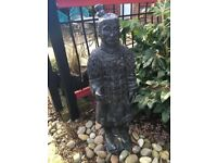 Japanese/Chinese Soldier Large Statue for Garden
