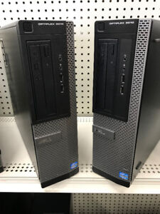 Dell Towers core i5 3.2 GHz 8 Gb ram video card!