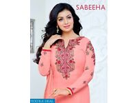 MF SABEEHA WHOLESALE STRAIGHT LONG SALWAR KAMEEZ
