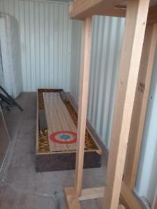 11-feet Shuffleboard.