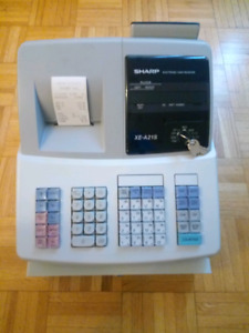 Sharp XE-A21s Electronic Cash Register for sale.