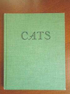 Wilfrid S. Bronson CATS signed 1950 First. Ed.