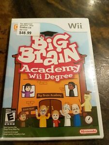 Big Brain Academy game for WII