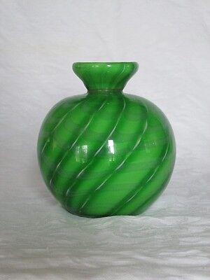"Alexandria  ""Green"" Art Glass Reed Diffuser"