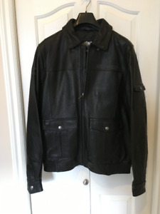 BRAND NEW MEN'S HARLEY LEATHER JACKET.