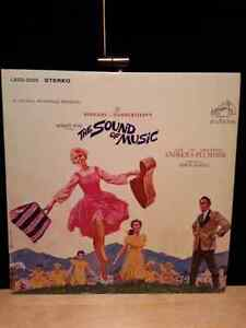 """Vinyle bande sonore """"The Sound of Music"""" vinyl soundtrack"""