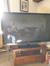 """50"""" LG plasma screen LED smart TV"""
