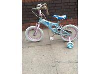 Girls splaok bike