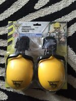 WorkHorse Earmuffs For Hardhats