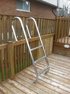 Swimming Pool Stainless Steel Ladder