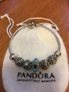 Pandora bracelet - will sell complete or individual pieces