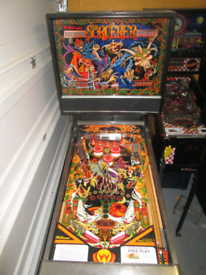 Pinball machine williams sorcerrer 1987 repair
