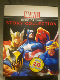 MARVEL Hero Origins Story Collection (with all 20 tattoos)