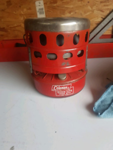 Coleman camping heater ( with camping fuel)