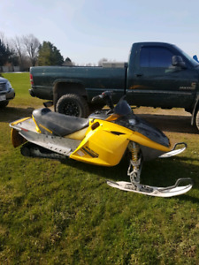 2004 mxzx 440 trail converted