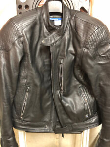 2018 BMW Motorrad Black Leather Jacket Size - Size 58