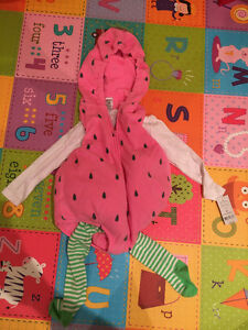 Strawberry halloween costume - 24 months - brand new with tags