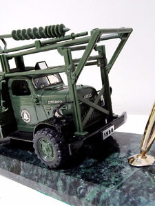 1950s AT&T Dodge BELL POWER WAGON TRUCK pen holder MARBLE Cambridge Kitchener Area image 3