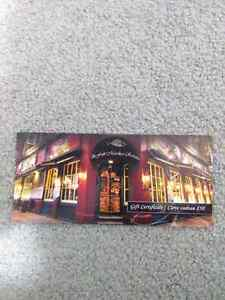 The Fish Market restaurant $50 Gift card for $40