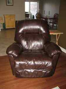Faux Leather Reclining Chairs
