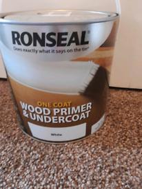 RONSEAL ONE COAT WOOD PRIMER&UNDERCOAT(could deliver)
