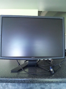 "ACER 20"" FLAT SCREEN COMPUTER MONITORS FOR SALE"