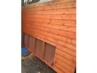 SHED 6x10 Fully tongue and grooved as new
