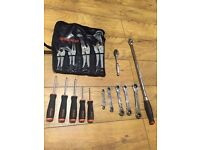 Snap on tools job lot blue point spanners wrench drivers ratchet