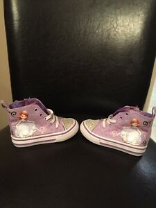 Brand New Sophia the First High Tops Running Shoes - Size 5