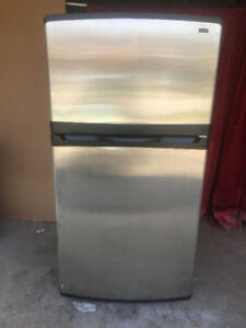 Kenmore Stainless Steel fridge for sale 65.5h 33w 29.5d