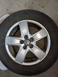 All-Season Tires and Volkswagen Rims