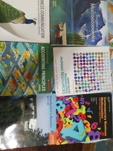 Business Administration textbooks for St Clair college