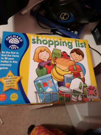 Educational Game - Shopping List Memory Game