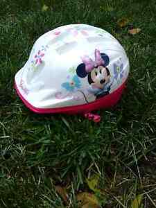 Childs helmet -mini mouse fits 2-3 year olds
