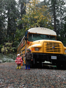 Easygoing Family looking to park our bus and live in Victoria BC