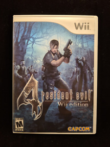 Resident Evil 4: Wii Edition (Nintendo Wii, Good Condition)