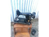 Vintage singer electric sewing machine (number 99)