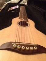 Washburn rover/electric and Hondo 12 strings acoustic 1981