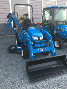 LS MT 125 Tractor Package. **FREE SNOW BLOWER**