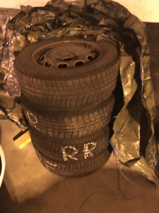 Used Michelin X-Ice Snow Tires
