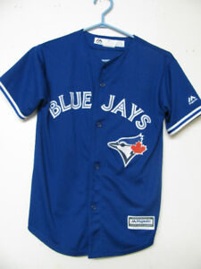 TORONTO BLUE JAYS MAJESTIC BASEBALL JERSEY OFFICIAL
