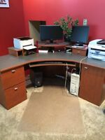 Large L-Shaped Computer Desk